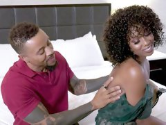 Misty Stone Didn't Realize She Was Fucking The Valet And Not The Rich Dude