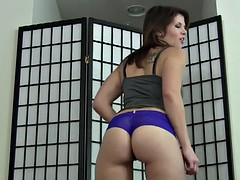 you can stare at my thong while you jerk your cock