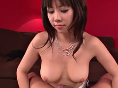 voluptuous asian's wet fellatio