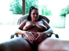 Massive knockers mama backyard mas Alverta from 1fuckdatecom