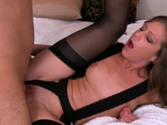 Massive erected dick bangs hawt milf out of mercy