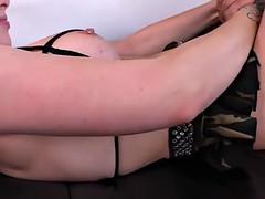 tittyfucking dominatrix pegs subs asshole