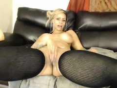 Teen does Ass toying