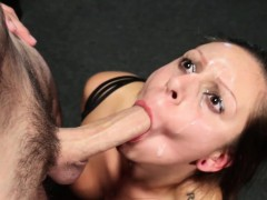 Submissives face destroyed with masters cock