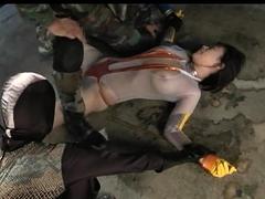 Submissive Asian slut with big boobs enjoys hardcore sex