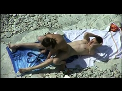 Beach voyeur finds horny couples indulging in torrid sex
