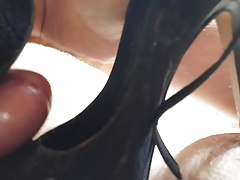 Triple high heel cum