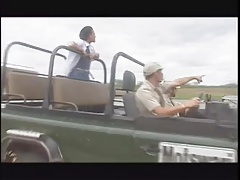 Safari tourist wife gangbang
