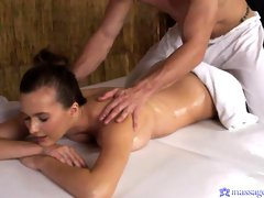 Astonishing oiled chick Stacy Cruz fucked good in the cowgirl pose