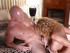 Tranny sucks him off before penetrating his tight ass