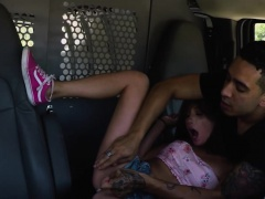 HelplessTeenGirls Tiny Carolina Sweets fucked in a van