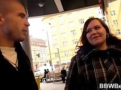 Bringing home a jiggly BBW for sex