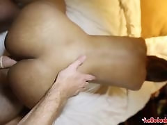 26yo busty Thai shemale gets fucked doggiestyle by tourists white cock