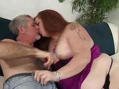 Naughty Plumper Scarlett Raven Uses Her Fat Body to Please a Thick Dick